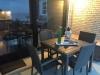 Rattan-Terrassenmöbel