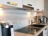 Strandpanorama auch in der Küche