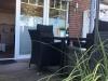 Terrasse mit Relaxmöbeln