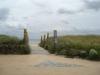 Strandzugang - nur wenige Meter von der Strandmuschel entfernt